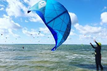 Chałupy Atrakcja Kitesurfing Kite Crew